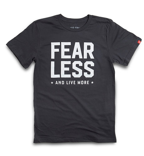 """CHARCOAL """"FEAR LESS"""" CREW"""