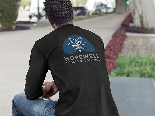 Hopewell Mission Control 100% Cotton Long Sleeve T-Shirt