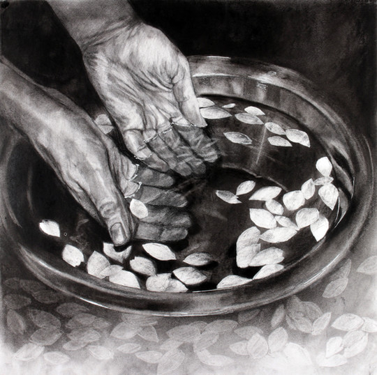 Zuzanna Salamon_ I immerse my hands in m