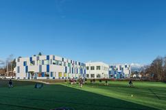 modular charter school building located in Massachusettes