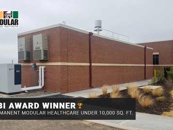 Whitley Manufacturing Awarded For Recent Modular (MRI) Healthcare Facility Project