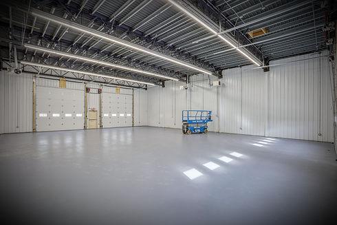 modular industrial steel building