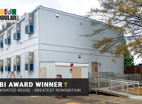 Whitley Takes Home Industry Award for Modular Visitation Center Project 🏆