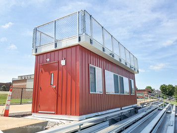 Whitley Builds Modular Press Box in St. Louis, Missouri