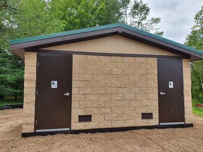 Modular restroom facility