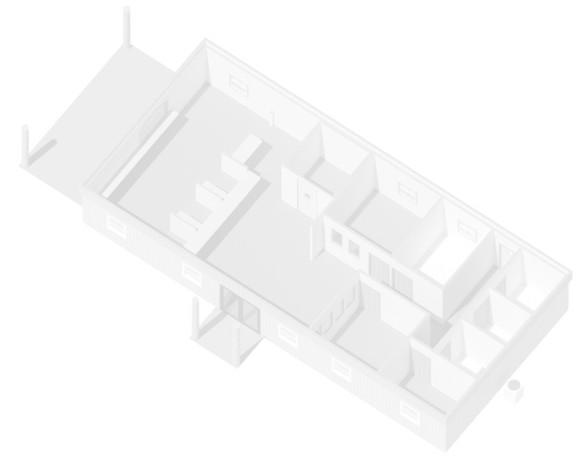 Image of modular commercial  building floor plan