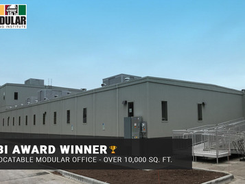 Whitley Receives Industry Recognition For Temporary Modular Office Space Project