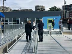 modular homeless housing project
