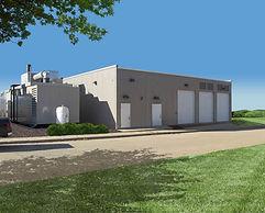 modular built maintenance building
