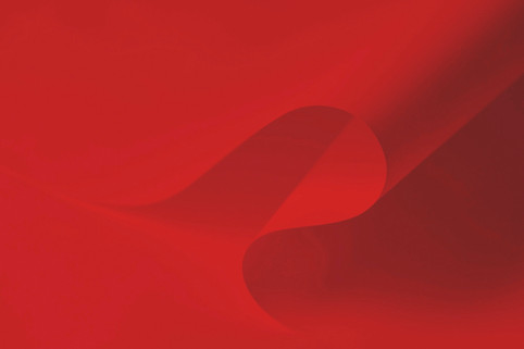Red background with gradient