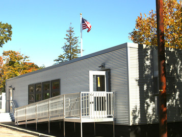 Whitley and Triumph Modular Build Temporary Classroom Space to Meet Pandemic Needs