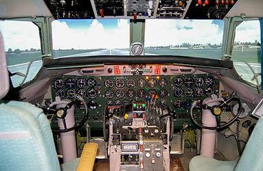 Convair CV440 Metropolitan simulator, Västerås Flygmuseum