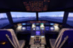 A320 Simulator, Västerås Flygmuseum