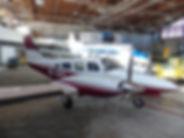 Piper PA-34-200T Seneca II, Västerås Flygmuseum