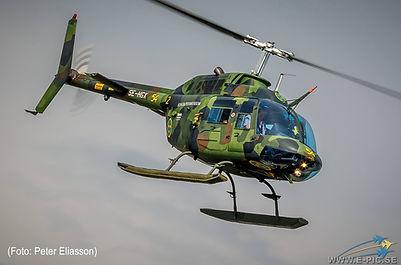Agusta-Bell 206, Jet Ranger, Hkp 6A, Västerås Flygmuseum
