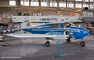 Piper PA-23 Apache 150, Västerås Flygmuseum