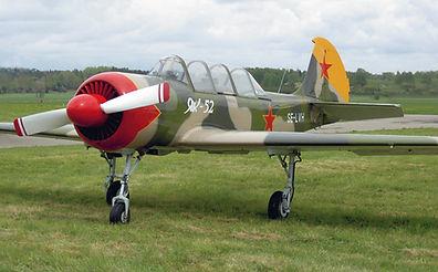 Yakovlev Yak-52, Västerås Flygmuseum