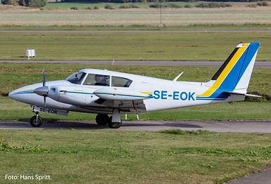 Piper PA-30 Twin Comanche, Västerås Flygmuseum