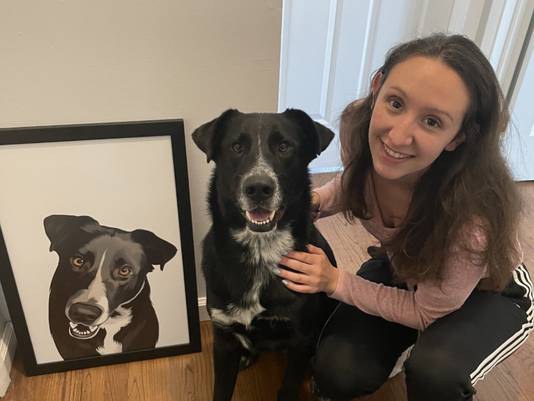 Brighten up Your Home with a Pet Portrait from Iconic Paw