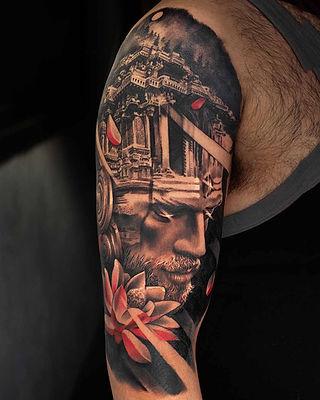 Tattoo by Sunny Bhanushali