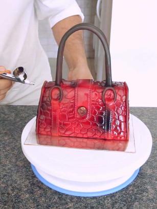 Designer Bag Cake: Learn to make unbelievable custom cakes