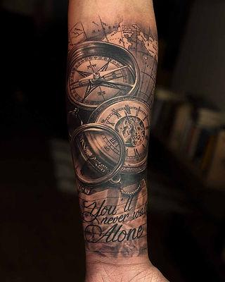 Travel Tattoos at Aliens Tattoo