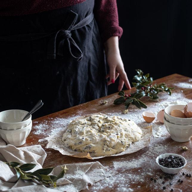Photographie culinaire - Brioche en préparation