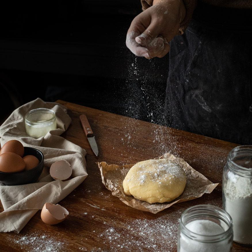 Photographie culinaire - Pâte en préparation