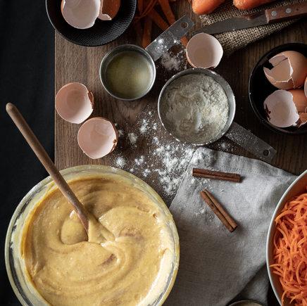 Photographie culinaire - Recette en préparation
