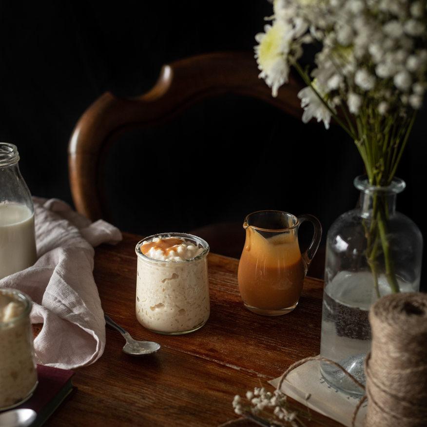 Photographie culinaire - Riz au lait