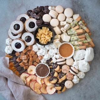 Photographie culinaire - Plateau sucré gourmand