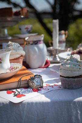 Photographie culinaire - Univers Alice au pays des merveilles