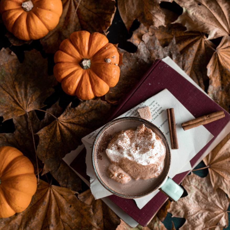 Photographie culinaire - Boisson chaude automne