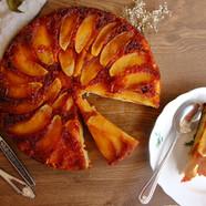 Gâteau renversé aux pommes, moelleux et fondant !