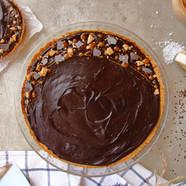 Tarte chocolat et caramel fleur de sel