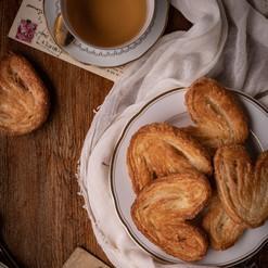 Palmiers l Biscuits feuilletés caramélisés