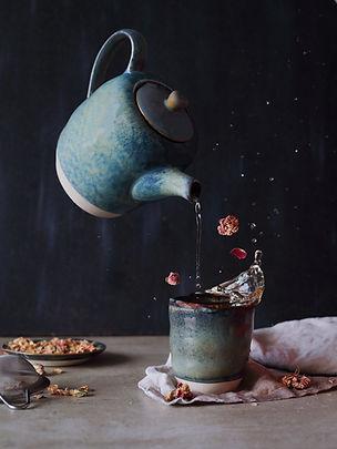 Photographie culinaire - Tisane et lévitation