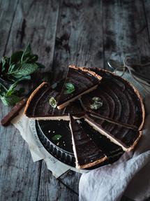 Tarte menthe & chocolat