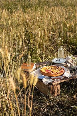 Photographie culinaire - Goûter dans les champs