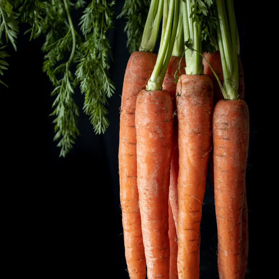 Photographie culinaire - Carottes