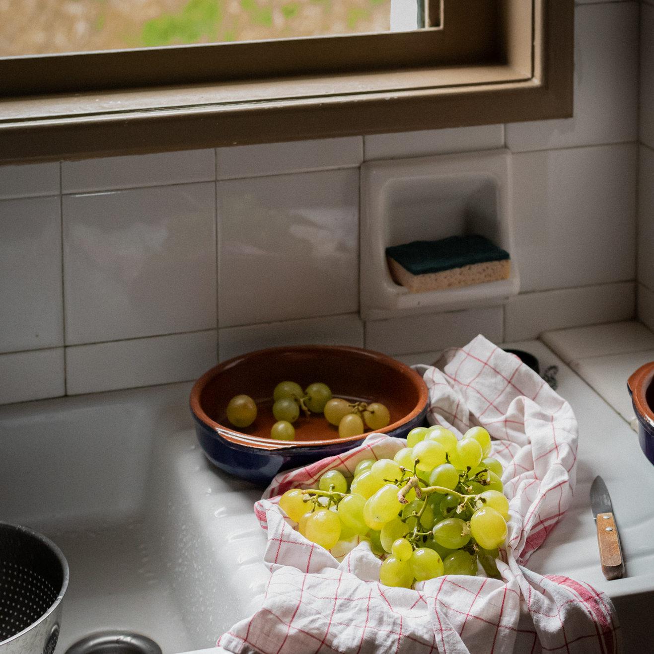 Photographie culinaire - Raisin
