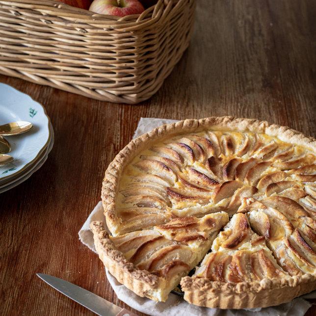 Photographie culinaire - Tarte aux pommes