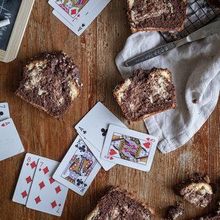 Photographie culinaire - Marbré vanille et chocolat