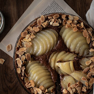 Tarte bourdaloue, simple + version chocolat l Tarte poire et amande