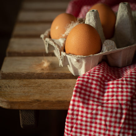 Photographie culinaire - Oeufs