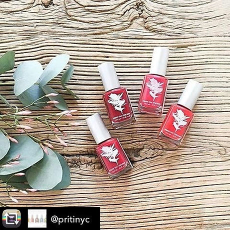 Beautiful Polishes from  _pritinyc  #mothersday #manicure #nails #spa #thefoutainofwellness #pureorg
