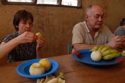Dégustation de fruits