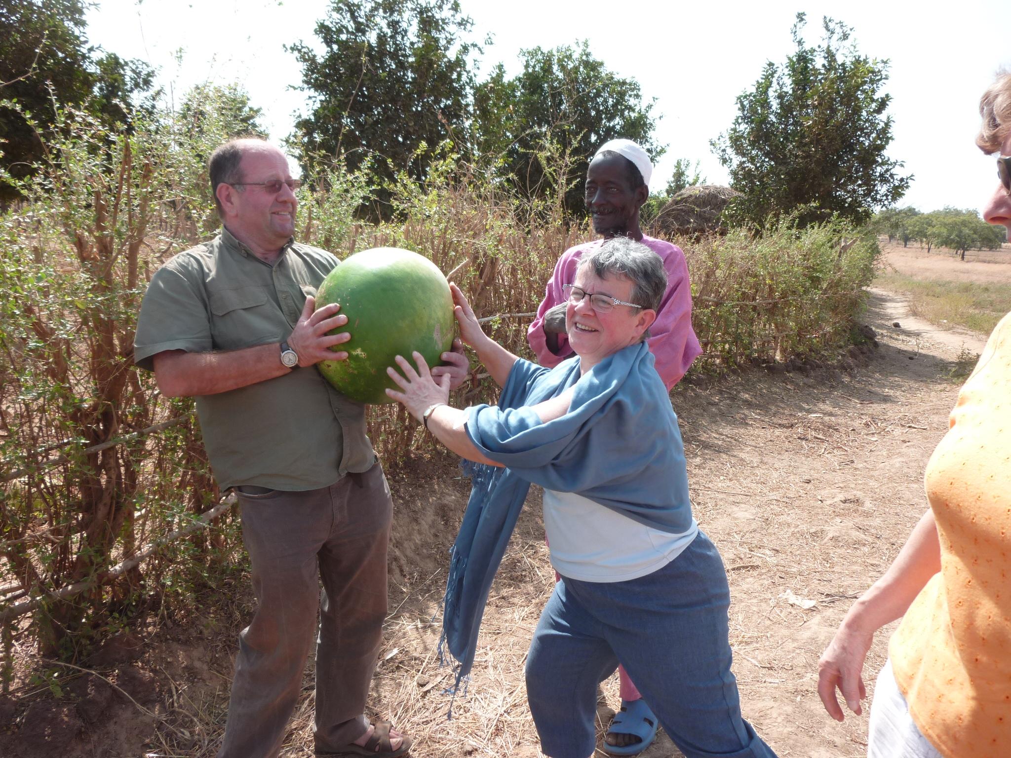 C'est lourd une pastèque