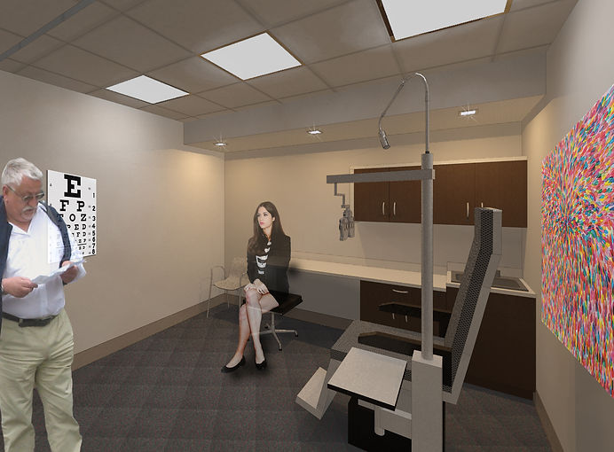 Family Vision Center Exam Room