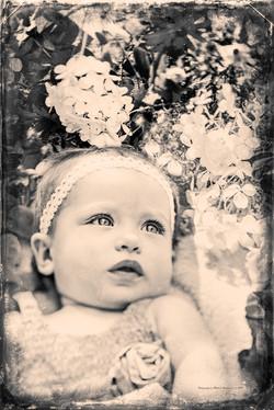 Megan Flower Girl BW.jpg